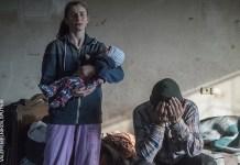 (Saliendo de casa en Nagorno-Karabaj) del ruso Valery Melnikov