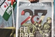 Voz Saharaui, portada del número cero