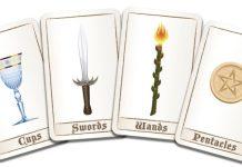 Cartas palos del tarot