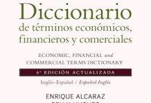 Diccionario ecionómico financiero Alcaraz Hughes