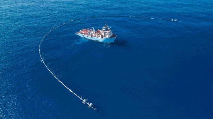 El Ocean Cleanup en la recogida de plásticos en el oceano