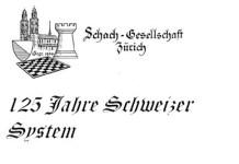 Logo del club de ajedrez Schachgesellschaft Zürich, el más antiguo