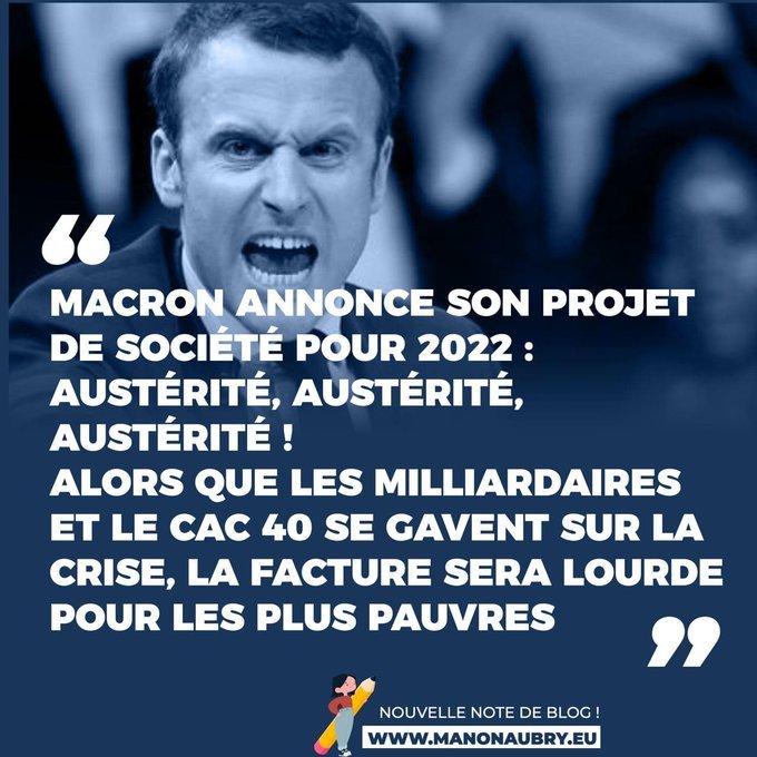 Macron austeridad austeridad