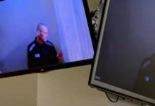 Navalni, captura de vídeo de la sesión del juicio el 29ABR2021