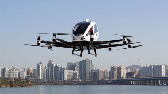 vertipuertos para drones en ciudades