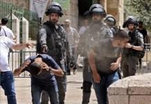 Periodistas palestinos agredidos por policías en Jerusalén