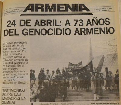 Portada Armenia 20ABR1988