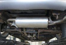 vehículos escapes catalizadores