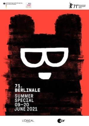 Berlinale espacial verano 2021 cartel