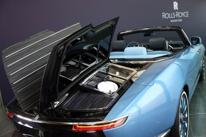 Rolls-Royce boat tail detalle