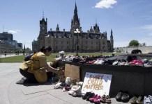 Canada Ottawa llama niños indígenas fallecidos
