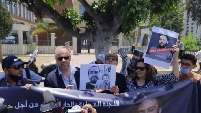 Casablanca periodistas protestas Raïssouni