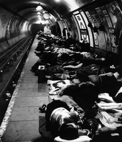 Brandt metro Londres 1940
