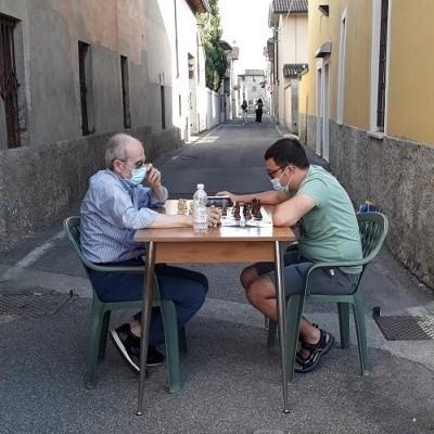 Cignano ajedrez popular calles