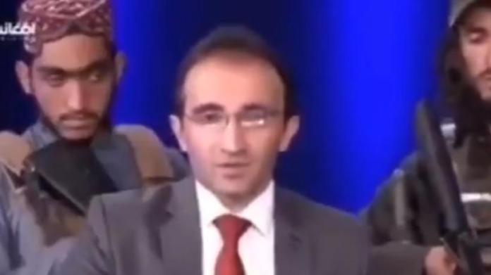 Afganistán Peace Studio presentador y talibanes