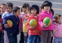China niños y niñas