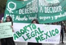 manifestaciones pro aborto en México