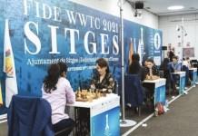 Ajedrez: campeonato mundial femenino 2021 en Sitges