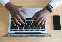 portatil teclado marketing digital