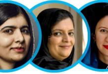 Zarqa Yaftali, Malala Yousafzai, Shaharzad Akbar