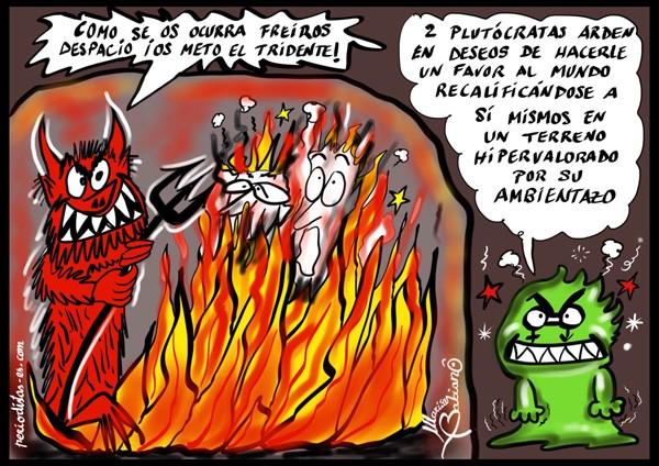 Arde Doñana
