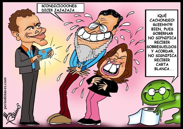 Mucus se prepara para la mejor de sus risas…