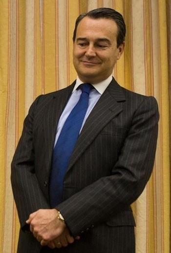 Agustín Conde en el Congreso de los Diputados