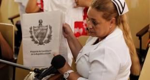 Constitución cubana contará con una amplia participación popular
