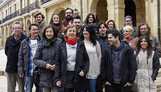 Ana Taboada al frente de la candidatura Somos Oviedo