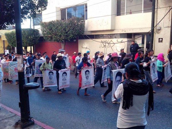 Ayotzinapa no se olvida
