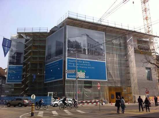 El Kunstmuseum en obras