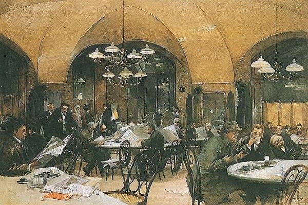 Cafe Griensteidl Viena