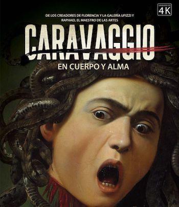 Caravaggio en cuerpo y alma cartel