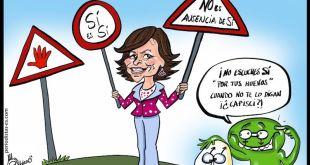 Carmen Calvo, vicepresidenta del Gobierno de España, y derechos humanos