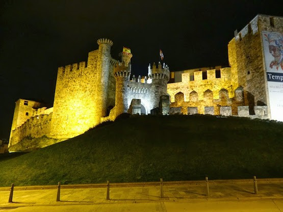 Castillo Templario en Ponferrada