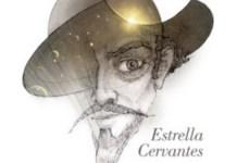 Logo de la campaña Cervantes estrella del universo
