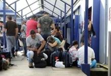 Costa Rica cierra las fronteras a la migración irregular. Foto: Andes/La Nación Costa Rica