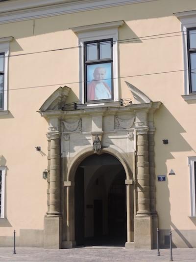 Cracovia estudio Juan Pablo II