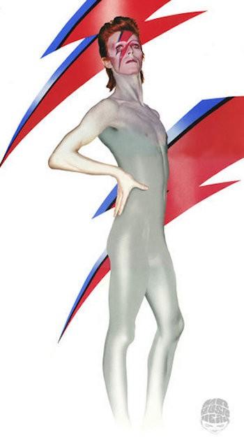 David Bowie Escenas de rnr aladdinsane