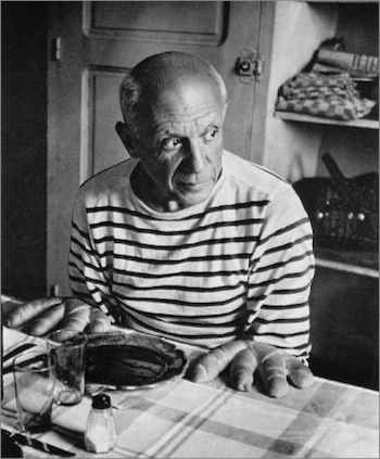 Doisneau: Los panes de Picasso