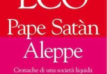 Portada de Pape Satan Aleppo, de Umberto Eco