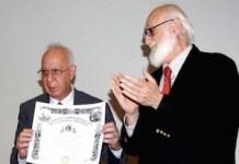 Eduardo Lolo con Gerardo Piña-Rosales