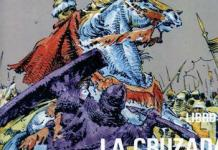 Portada de La cruzada de Barbastro, cuarto y último volumen de El Cid.