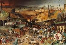 El triunfo de la Muerte. Pieter Brueghel El Viejo, 1562. Museo Nacional del Prado, Madrid.