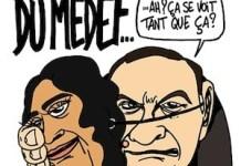 Viñeta contra la reforma del derecho del trabajo en Francia que promueve El El Khomri