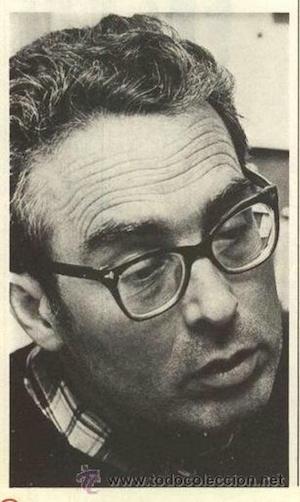 Francisco García Salve retratado por María España en 1976