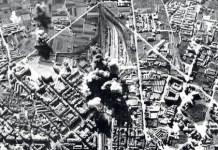 Bombardeo de de la estación ferroviaria de Gijón