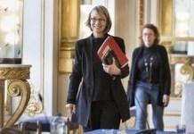 Francoise Nyssen en la Asamblea Nacional de Francia