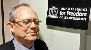 Frank La Rue en la Unesco
