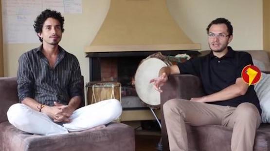 Franklin Martínez y Leo Santillán son los creadores de La Mestiza. Foto: Micaela Ayala/Andes